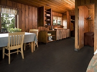 Exterior Of Deluxe Cabin Kitchen